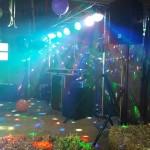Setup voor het feestje van mijn neefje Marwin